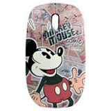 UNIQUE Disney Mini OM  Mickey Comic Star Wired Mouse[DS-MM-MCS] - Mouse Mobile